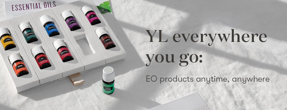 Young Living products everywhere you go - Young Living blog - Essential oils