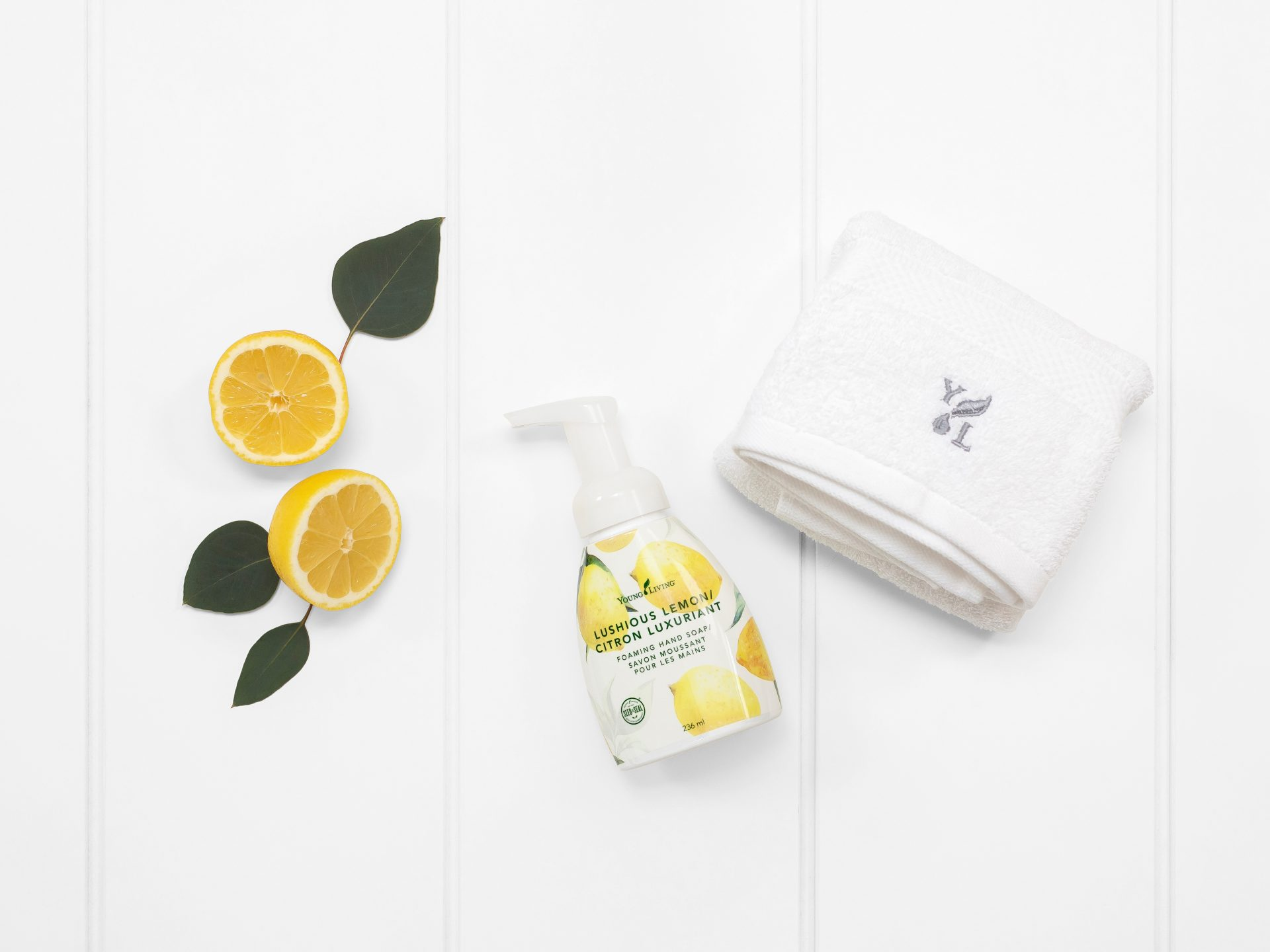 Young Living Essential Oils Lushious Lemon Foaming Hand Soap