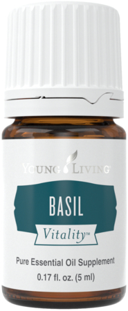 Young Living Basil Vitality Essential oil