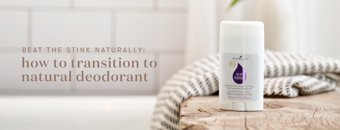 Beat the Stink Naturally: how to transition to natural deodorant