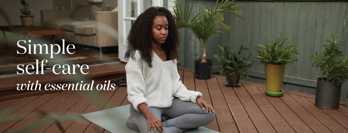 Simple self care with Young Living essential oils - The Lavender life blog