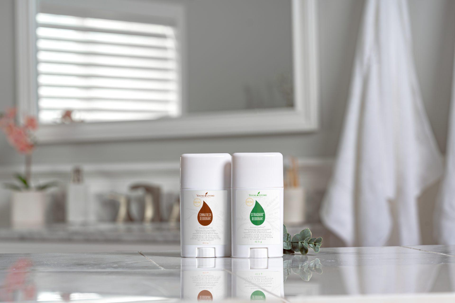 Citraguard and Cinnafresh deodorant - Young Living Essentials Oils