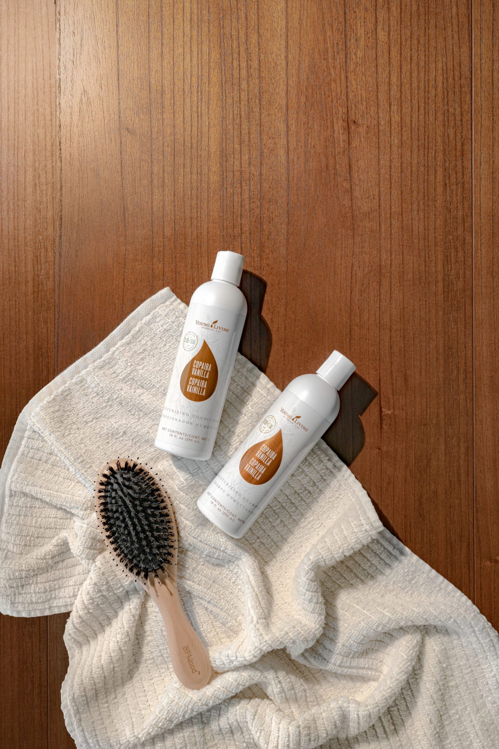 Copaiba Vanilla Shampoo & Conditioner--Young Living Essential Oils