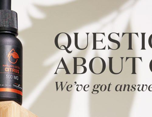 Questions about CBD? We've got answers!