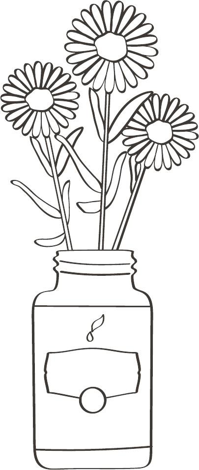 Simple coloring page 2--Young Living Essential Oils Blog