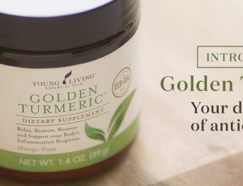 Introducing Golden Turmeric: Your daily dose of antioxidants