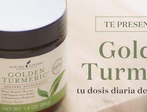 Te presentamos Golden Turmeric: tu dosis diaria de antioxidantes