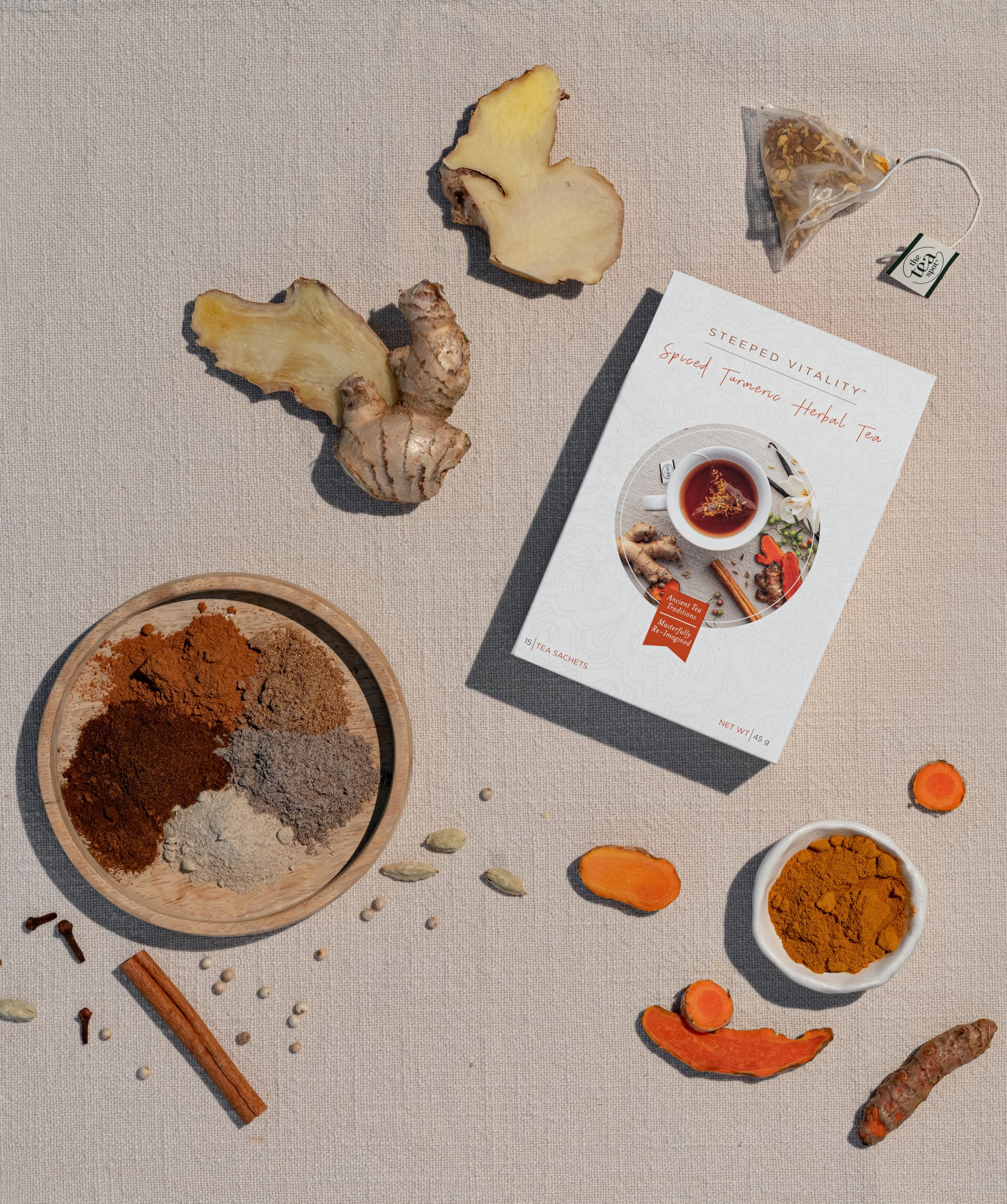 Spiced Turmeric Vitality Tea--Young Living Essential Oils