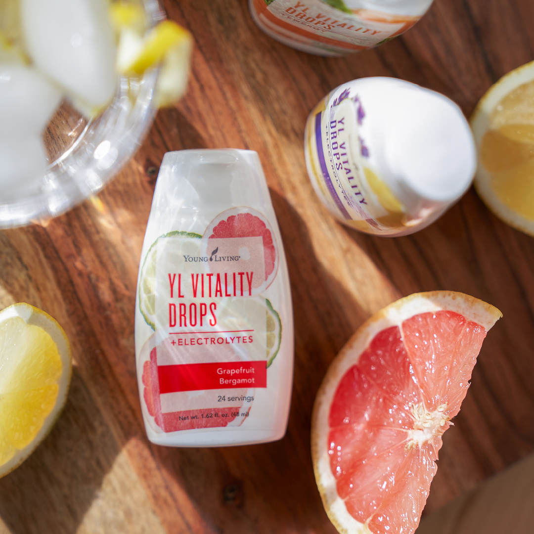 Grapefruit Bergamot Vitality Drops - Young Living Essential Oils