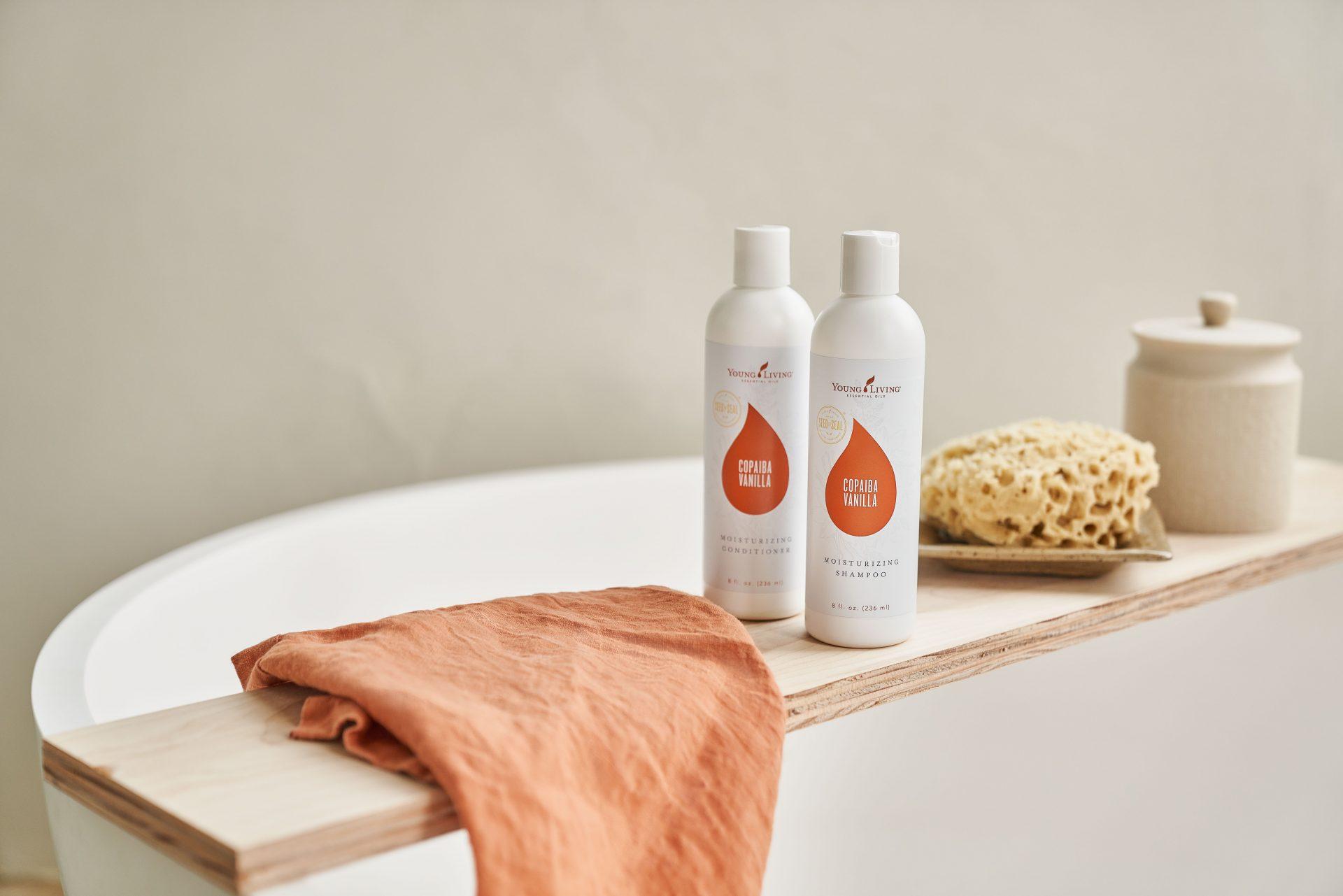 Copaiba Vanilla Moisturizing Shampoo - Young Living Lavender Life Blog