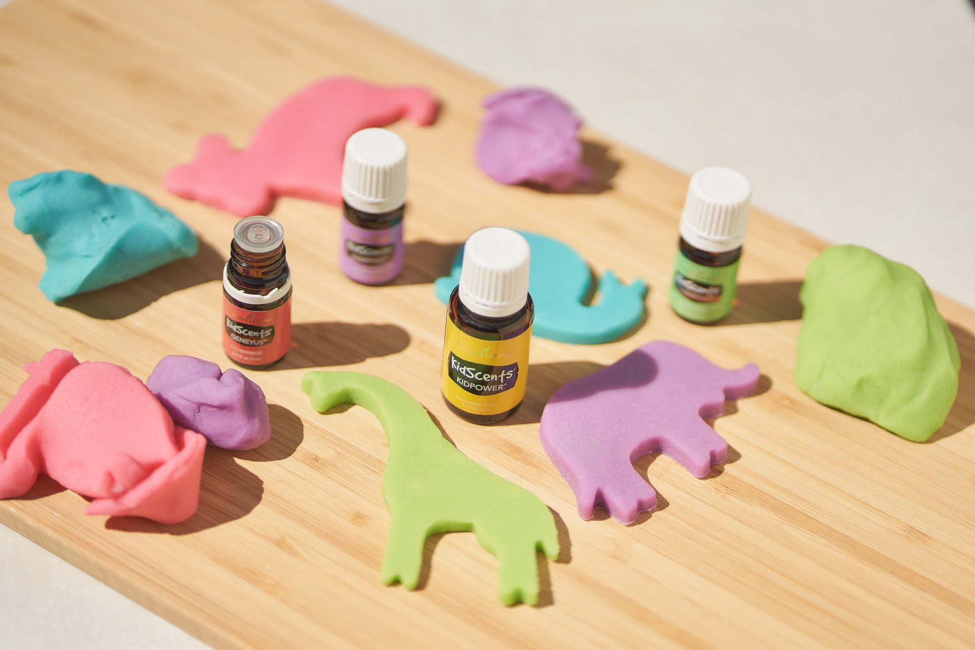 KidScents Play Dough - Young Living Lavender Life Blog