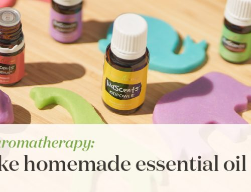 Adventures in aromatherapy: How to make homemade essential oil play dough