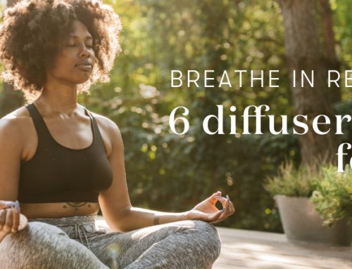 Breathe in relaxation: 6 diffuser blends for yoga