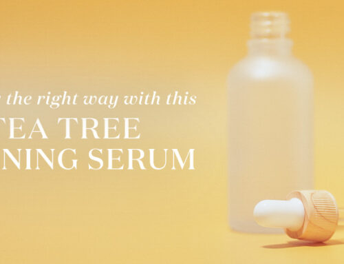 Finish your day the right way with this DIY tea tree face toning serum