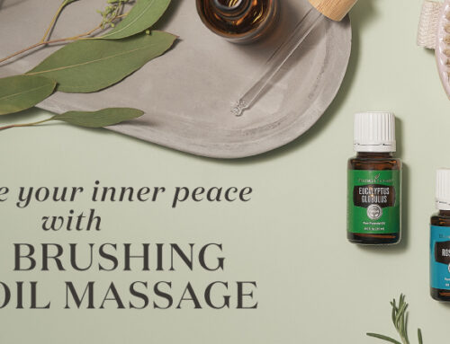 Increase your inner peace with dry brushing and oil massage