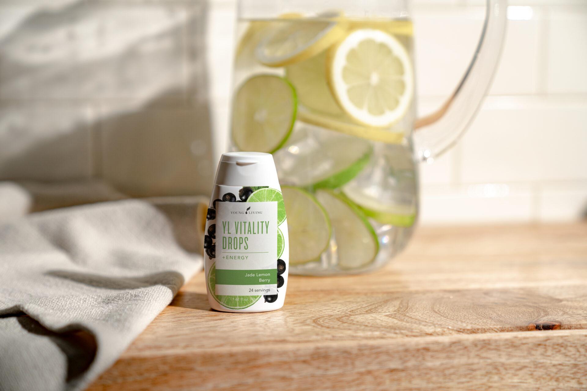 YL Vitality Drops - Energy Jade Lemon Berry - Young Living Essential Oils