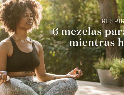 Respira y relájate: 6 mezclas para difundir mientras haces yoga