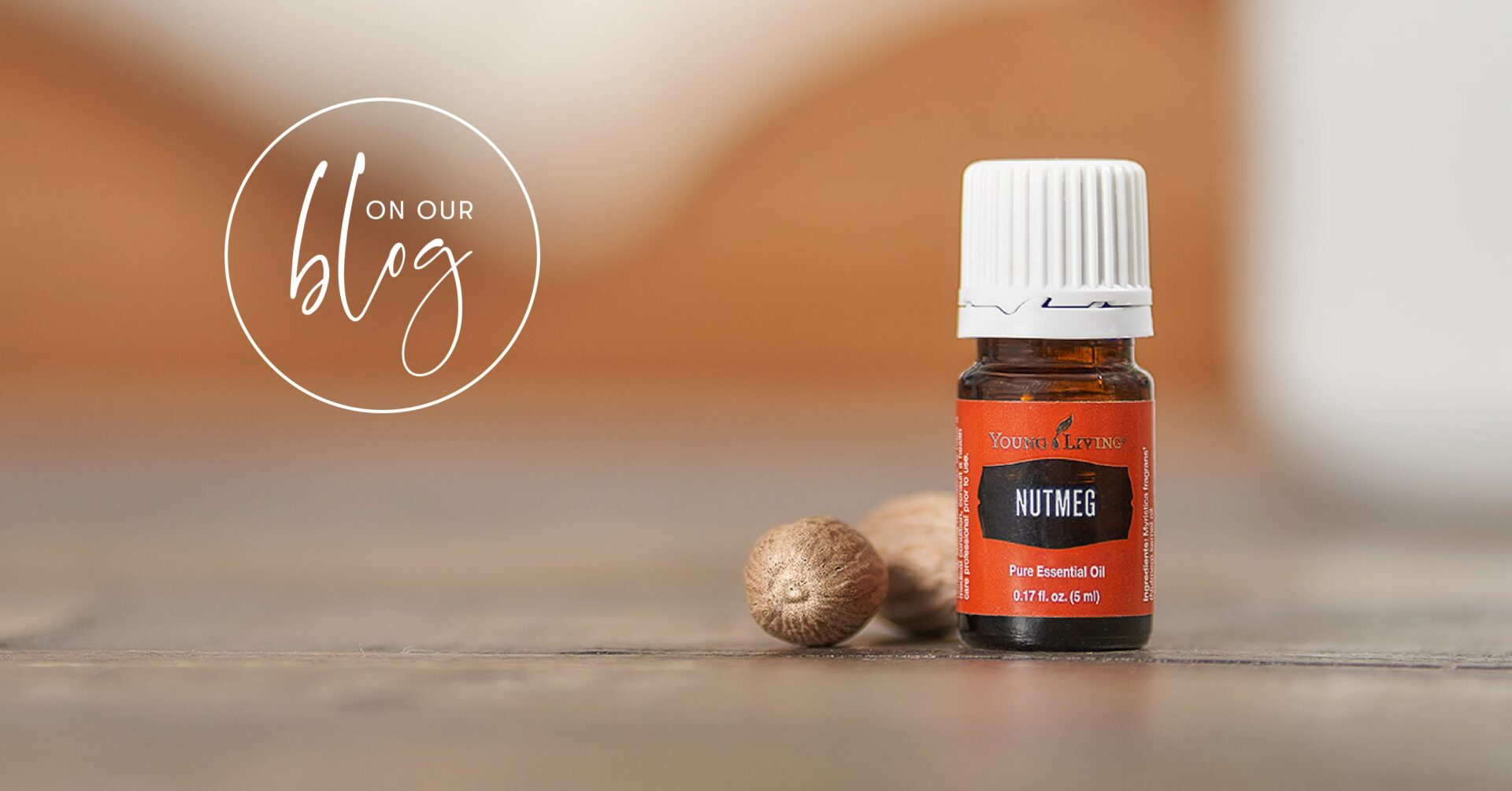 Nutmeg essential oil: Warm, spicy, and uplifting