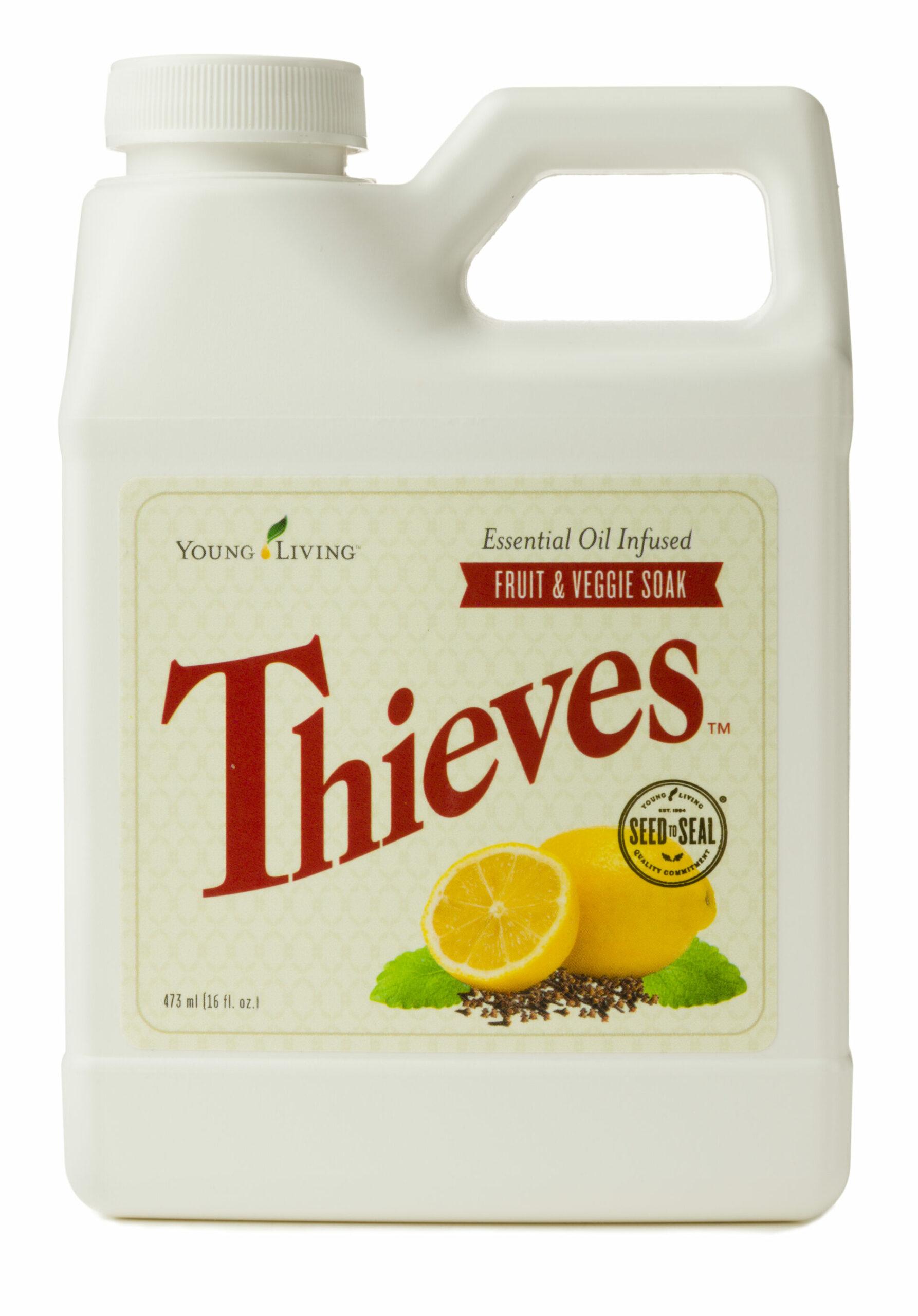 Thieves Fruit & Veggie Soak - Young Living Essential Oils