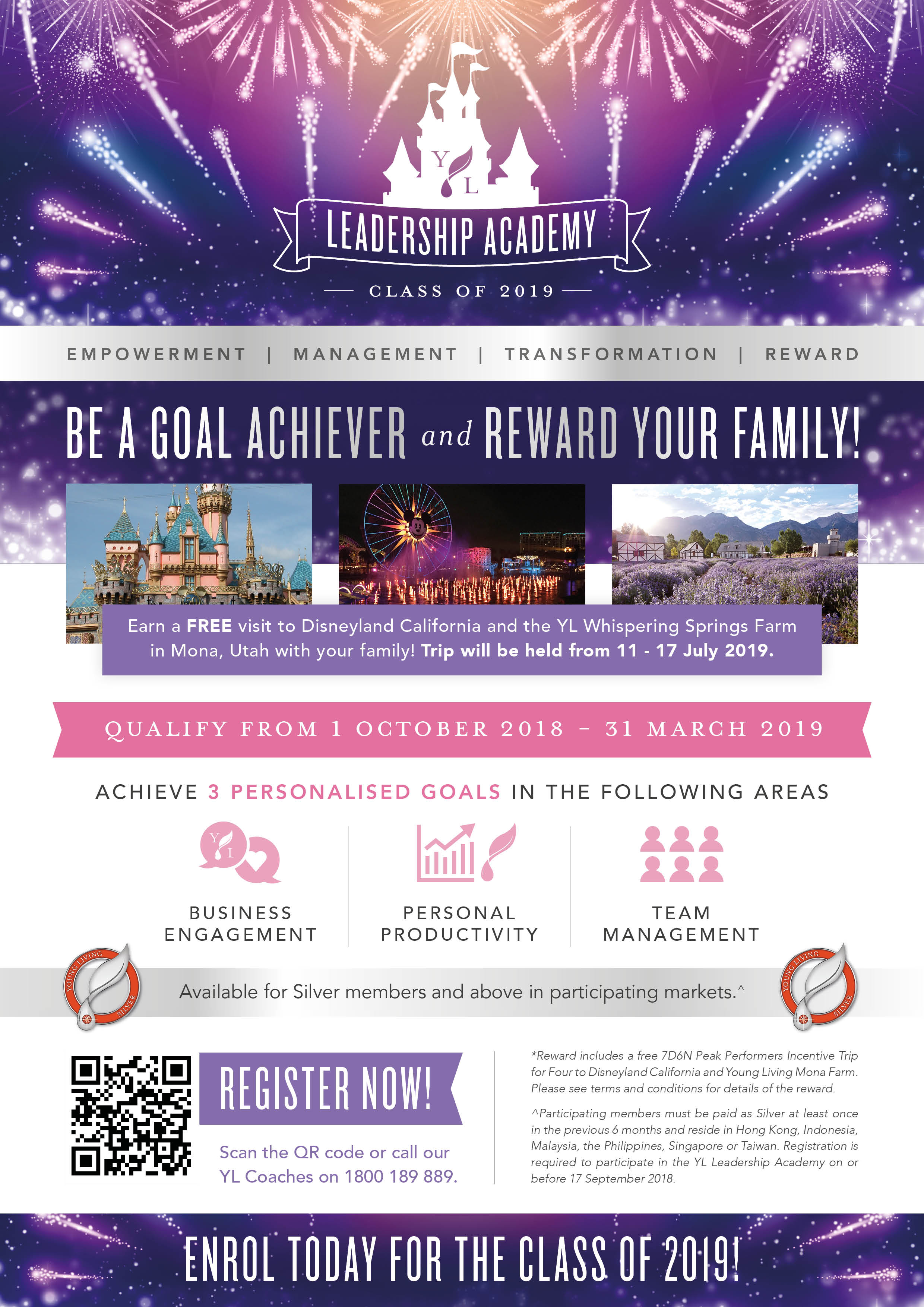 Yl Leadership Academy Class Of 2019 Young Living Essential Oils Disneyland Hong Kong  Adult 1 Day Pass Enroll In The And Bring Your Family On Peak Performers Incentive Trip Join Our Party