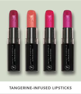 Tangerine-Infused Lipsticks