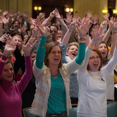 Member celebrate at Young Living Convention