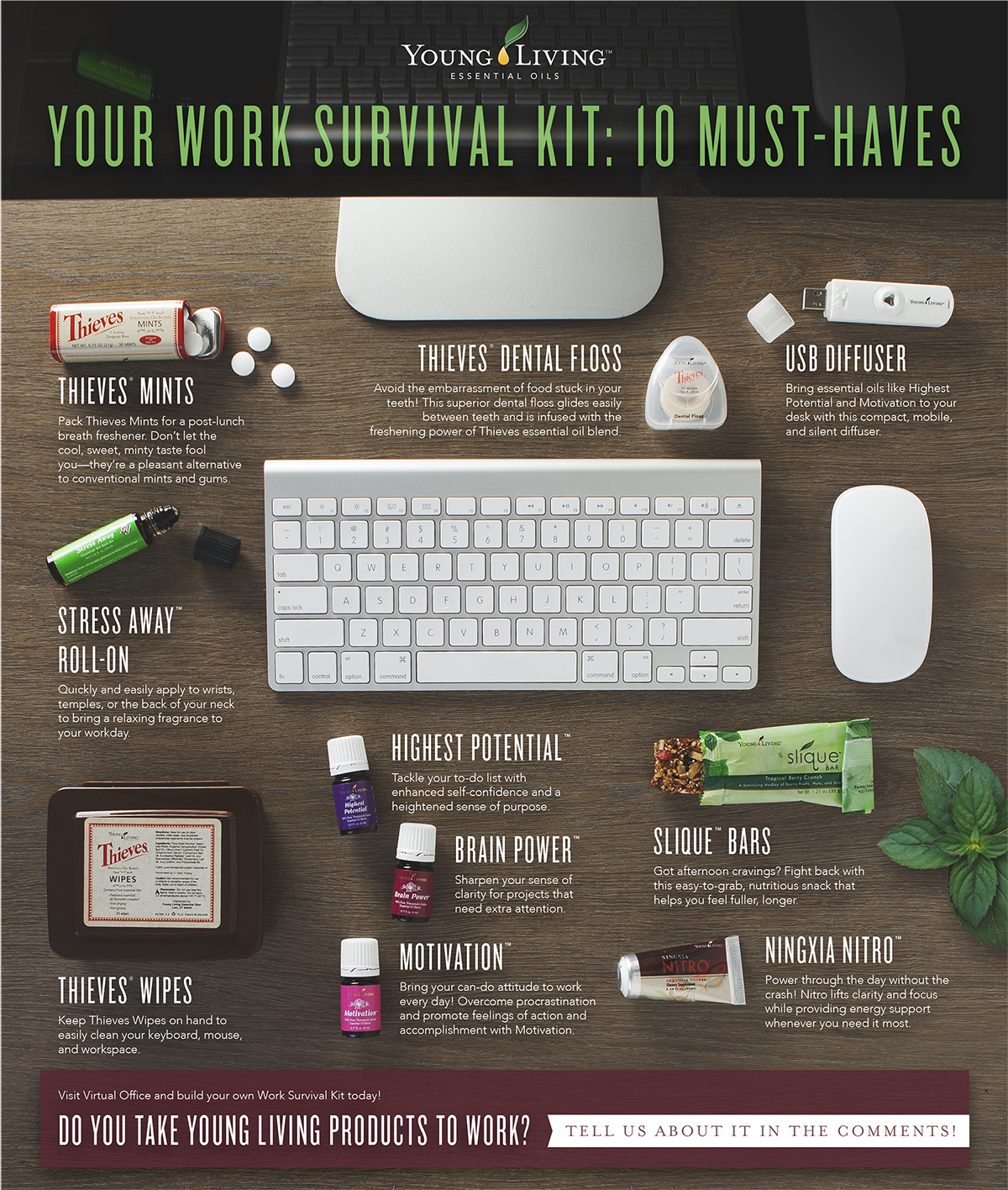 Your Work Survival Kit 10 Must Haves Young Living