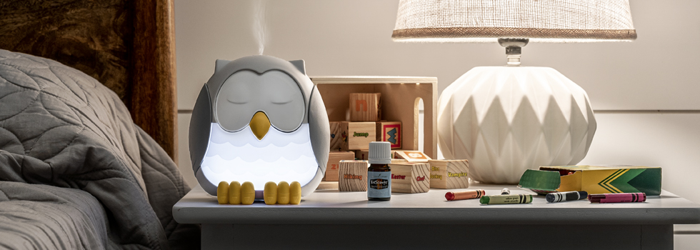 Feather The Owl Diffuser Young Living Essential Oils