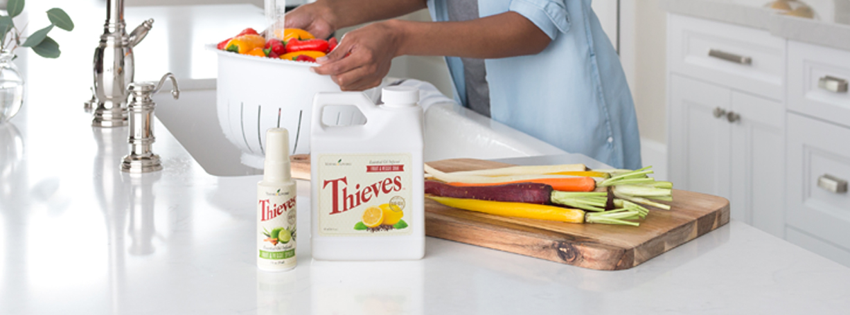 Thieves Fruit Amp Veggie Spray Young Living Essential Oils