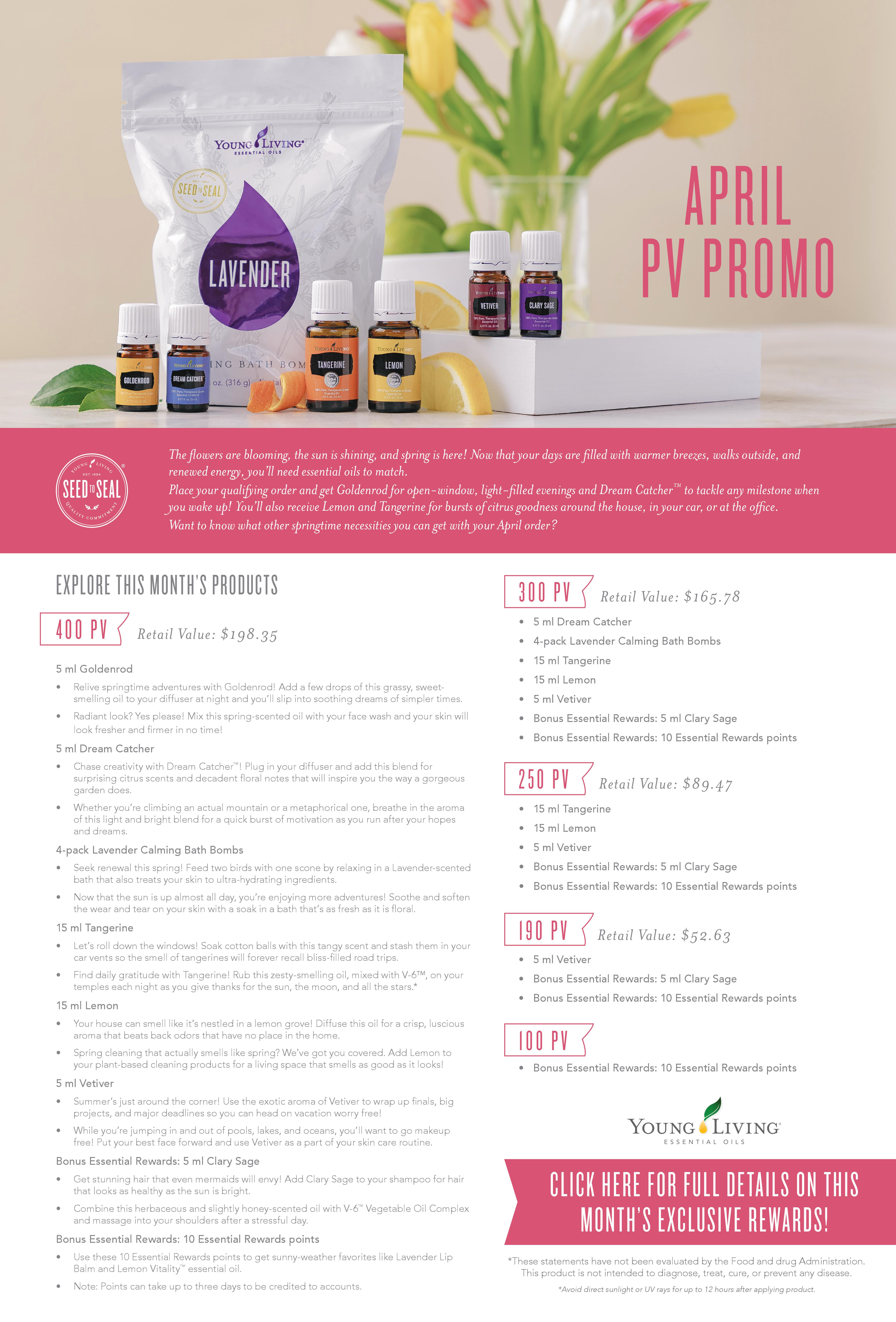 Young Living PV Promo