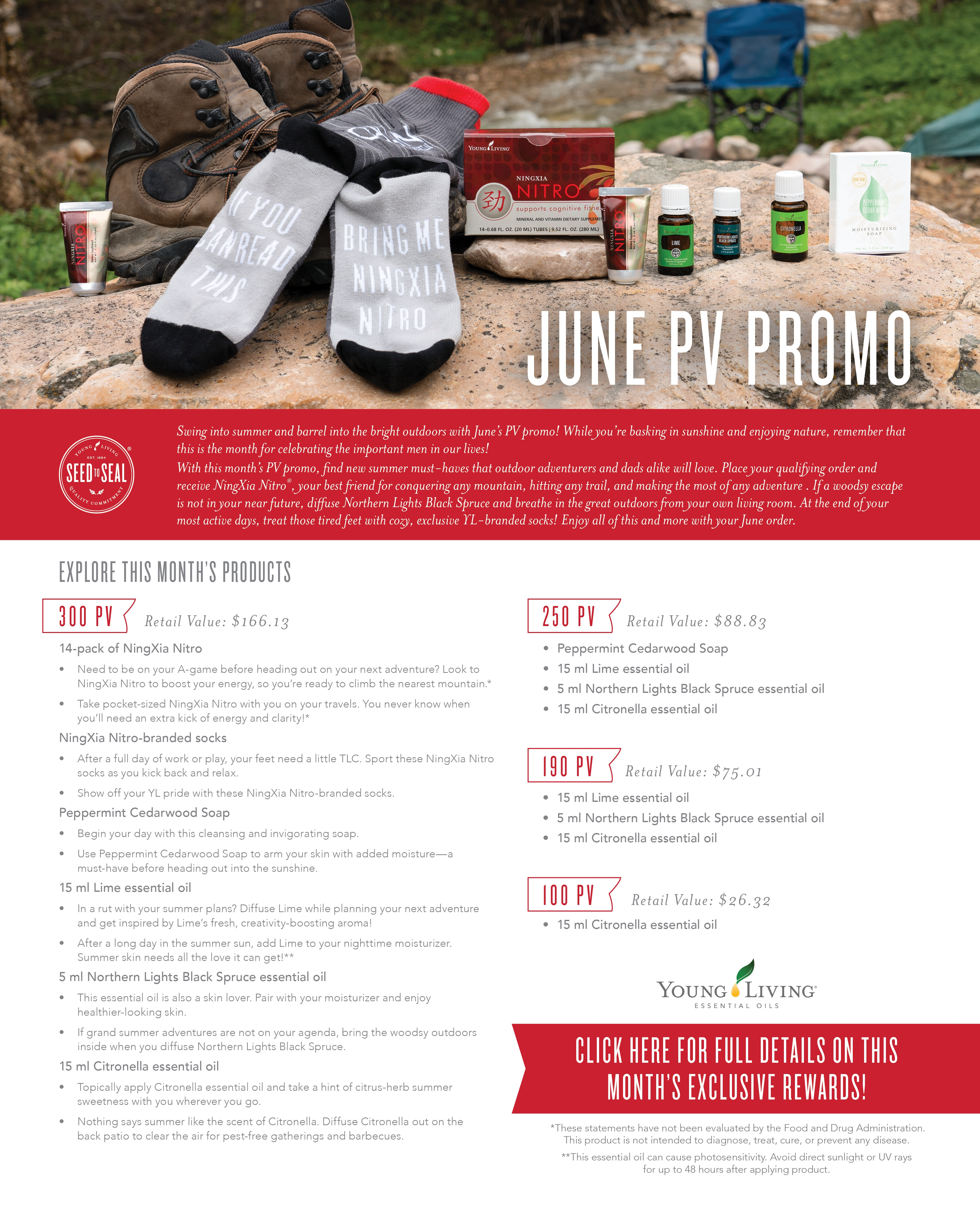 June Young Living PV Promo