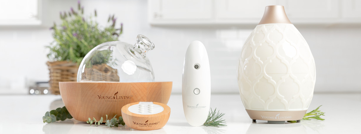 Dewdrop Home Diffuser For Essential Oils Young Living Essential Oils