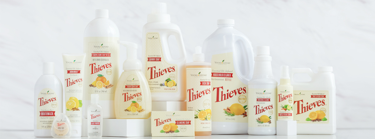 Thieves Household Cleaner Young Living Essential Oils